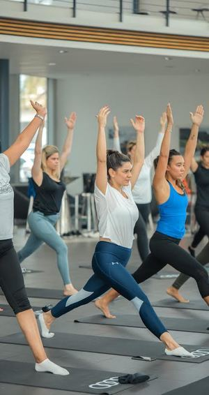 Allegados de Audi Dominicana iniciaron el año en bienestar con el cuerpo y la mente.