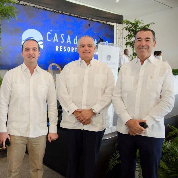 Jorge Esturla, Luis Espinola y Juan Manuel Martín de Oliva.