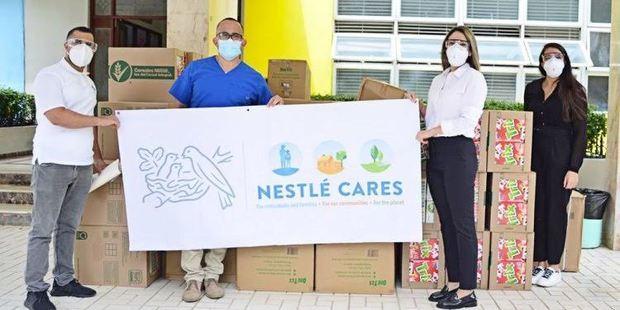 Nestlé Dominicana ha donado más de 1,600,000 raciones alimenticias.