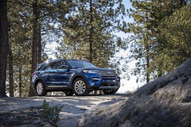 Ford Explorer 2020 obtiene el reconocimiento de seguridad del Insurance Institute for Highway Safety