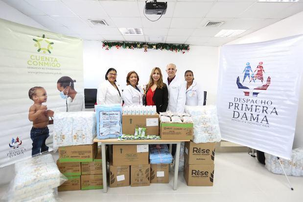 Aportan medicamentos para contribuir a la reducción de la mortalidad materno-infantil