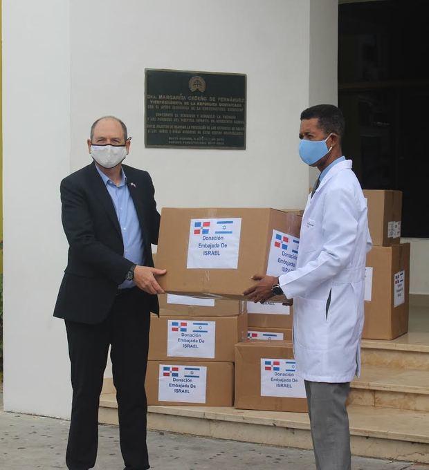Israel dona insumos médicos contra el Covid-19 al Hospital Infantil Dr. Robert Reid Cabral