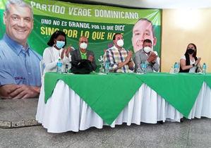 Joel Díaz proclamado por Partido Verde.
