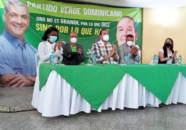 Partido Verde proclama a Joel Díaz como candidato a diputado