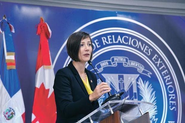Shauna Hemingway, embajadora de Canadá en la República Dominicana.