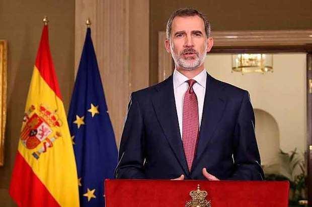 El rey de España, Felipe VI, pidió este miércoles a la sociedad española dejar de lado las diferencias y unirse en la lucha contra el coronavirus.