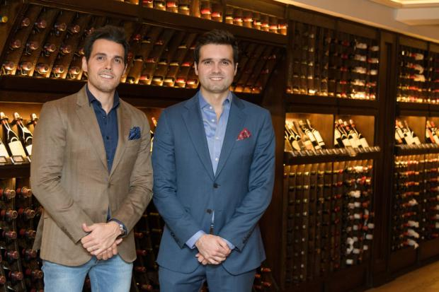 Luis Alejandro Fernández y Arturo Fernández