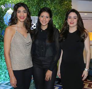 Daniela Cruz, Emily McDougall y Loren Lama