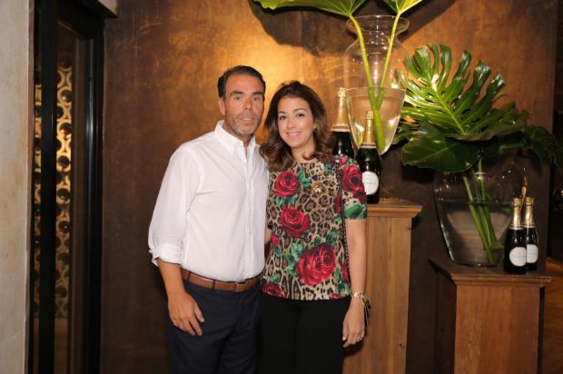 José Manuel González y María Josefina Cabral de González.
