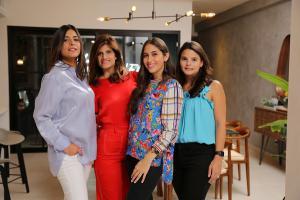 Maria De Moya, Elsa González, Marcelle De Moya, Beatriz Báez