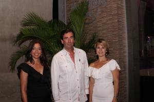 Mónica Herrera, Steven Ankrom y Doralba Londoño.