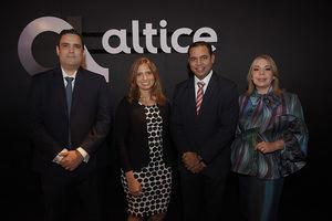 Danilo Ginebra, Ana Figueiredo, Rafael Pichardo y Tammy Reynoso.