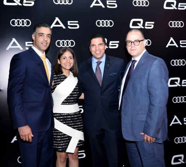 Alexander Gutiérrez, Carla Frías, Benjamín Paiewonsky y Gabino Martínez.