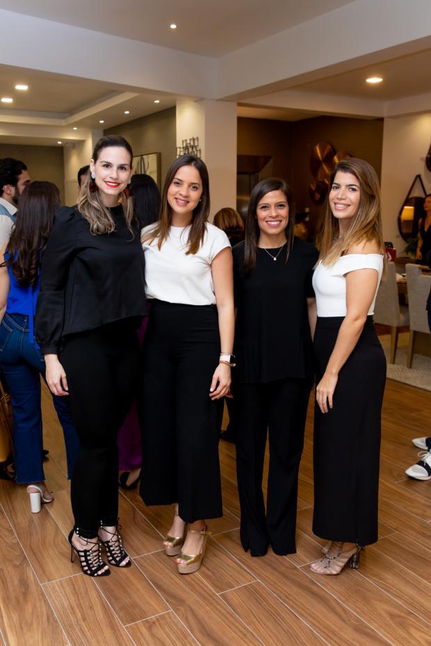 Liza Azar, Raquel Henriquez, Karla Arias, Annellie Khoury