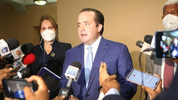 """Ministro Paliza: """"Informe EE.UU. resalta esfuerzos realizados por este gobierno contra la corrupción"""""""