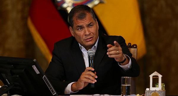 Aplazan al viernes audiencia previa a juicio en caso contra Correa en Ecuador