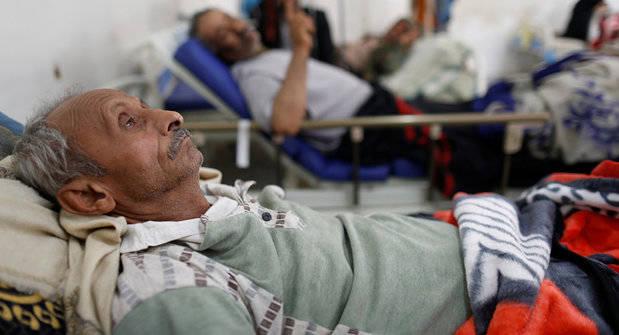 Enfermo de cólera.