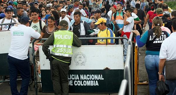 Más de un millón de venezolanos están refugiados en Colombia