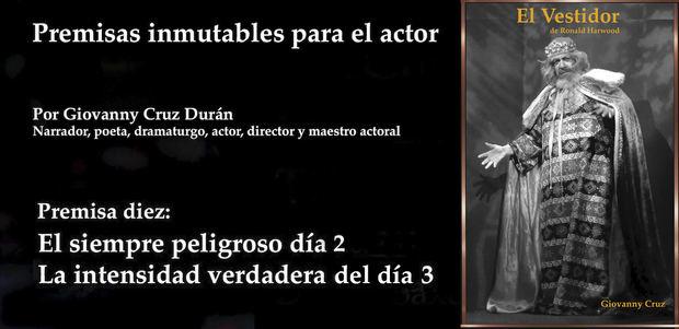 Décima, y última, premisa inmutable para el actor: