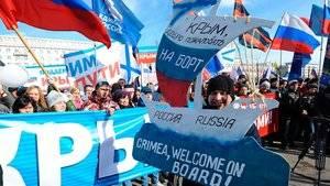 Rusos se manifiestan.