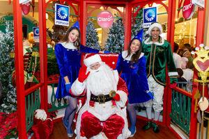 Santa Claus y sus Duendes.