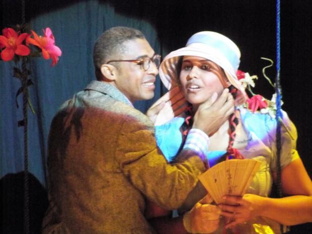 """""""Jardín, el aroma del amor"""", regalo de Anacaona Teatro en San Valentín"""