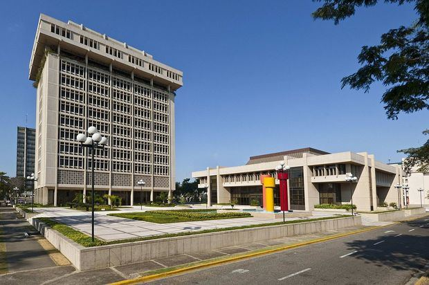 Torre del Banco Central de la República Dominicana.