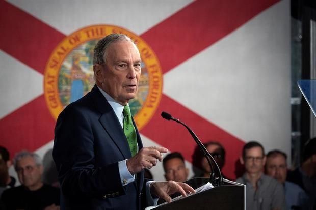 Bloomberg promete a los latinos el fin de la hostilidad de la era Trump