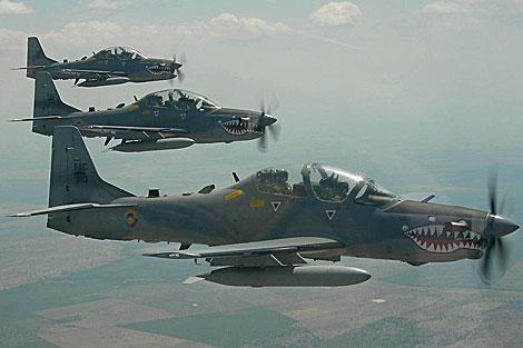 R.Dominicana vigila la frontera con aviones de combate por la crisis en Haití
