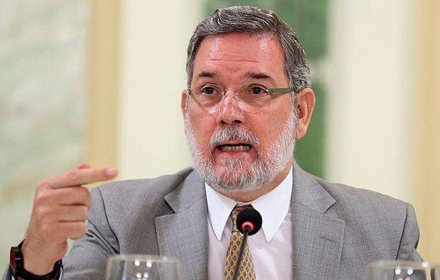 Exportavoz de la Presidencia Roberto Rodríguez Marchena.