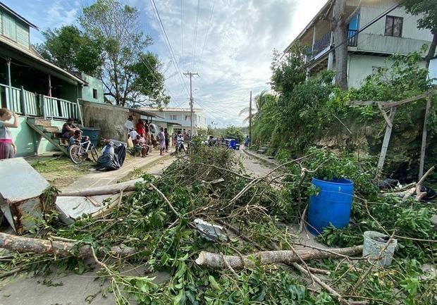 Colombia afronta la devastación casi total de la isla de Providencia por Iota