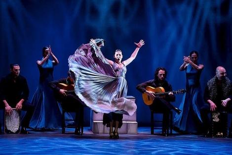 """Sara Baras rinde homenaje en Nueva York a maestros que """"marcaron"""" al flamenco"""