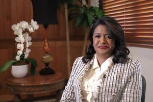 Paula Disla , presidenta del CONANI.