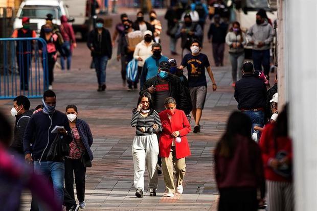 Ecuador supera los 90.000 contagios y suma 1.671 positivos de Covid-19 en un día