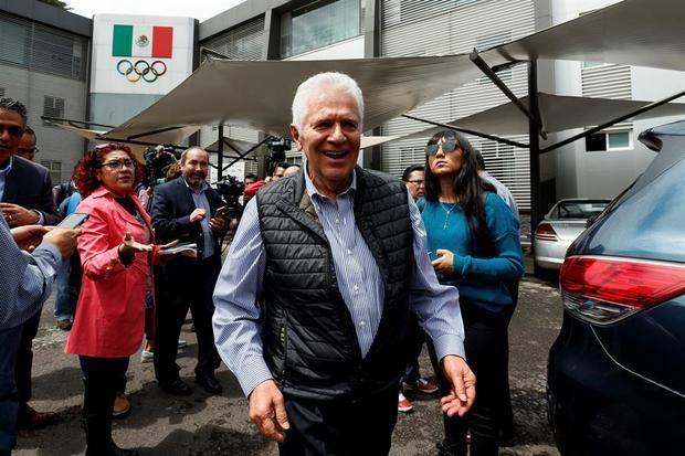 El presidente del Comité Olímpico Mexicano, Carlos Padilla.