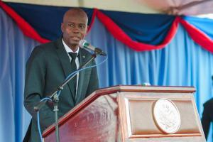 Presidente haitiano, Jovenel Moise.