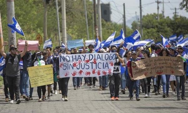Rechazo a Ortega, represión y apoyo a la CIDH, marcan jornada en Nicaragua