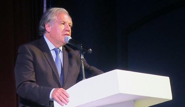 Almagro y 5 expresidentes participarán en el foro del Parlacen en Santo Domingo