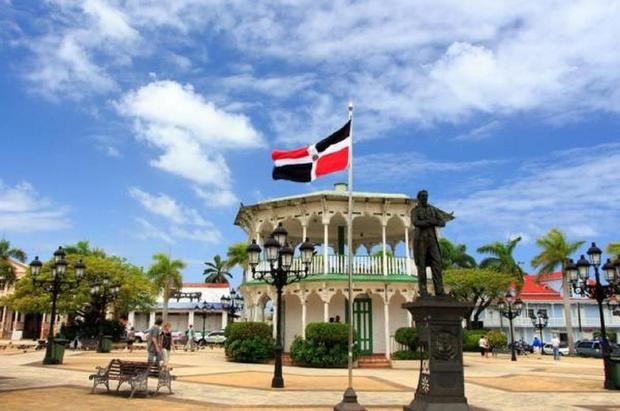 Parque Central, Puerto Plata, Republica Dominicana.