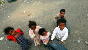 Niños en países en guerra