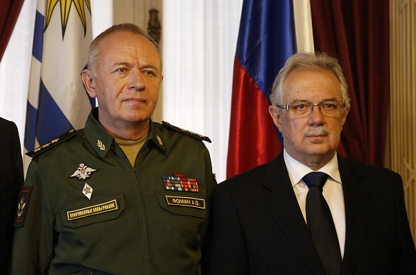 Uruguay y Rusia se reúnen en Montevideo para estrechar lazos en defensa