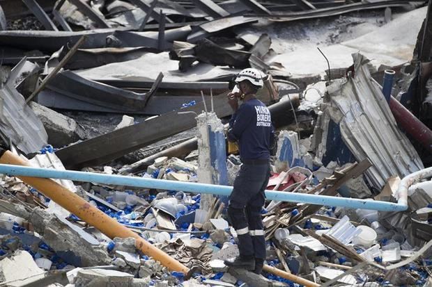 Aumentan a ocho los muertos por la explosión de Polyplas