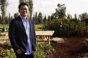 El chef japonés Yoshiro Narisawa.