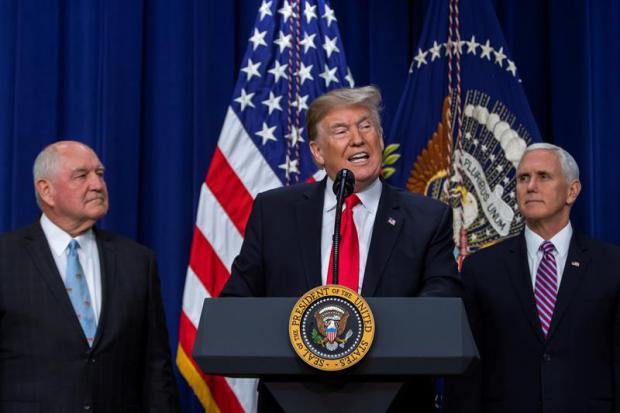 La Cámara Baja de EE.UU. le aprueba a Trump 5.000 millones de dólares para el muro