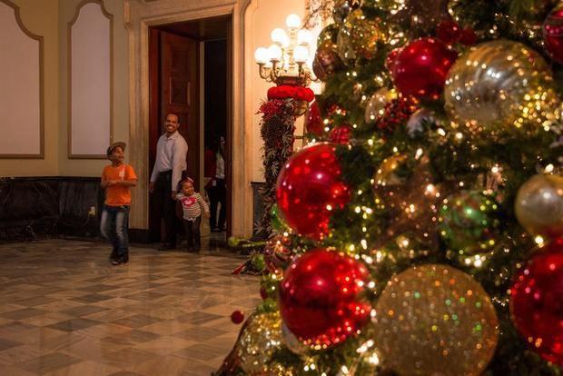 La sede de la Presidencia dominicana abre al público por Navidad