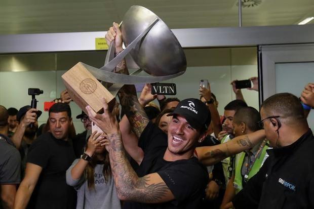 """Gabriel Medina, bicampeón mundial de surf: """"Creí mucho en mi sueño"""""""