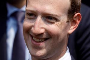 Cofundador y consejero delegado de Facebook, Mark Zuckerberg.