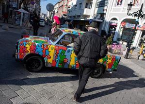 Plovdiv abre su año como Capital Cultural europea con un espectáculo de luz-