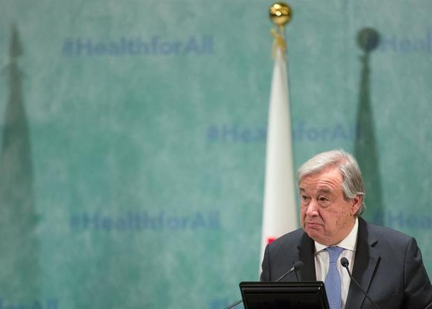 La ONU, preocupada por la polarización en Venezuela tras la detención de Guaidó En la imagen, el secretario general de la ONU, António Guterres.