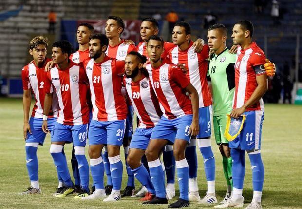En la imagen, jugadores de fútbol de Puerto Rico.